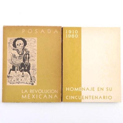 "Lithograph Portfolio after José Guadalupe Posada ""La Revolucion Mexicana"""