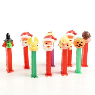 "PEZ ""Santa"", ""Jack-o-Lantern"", ""Lamb"" and Other Holiday Candy Dispensers"