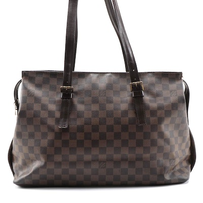 Louis Vuitton Chelsea Tote in Damier Ebene