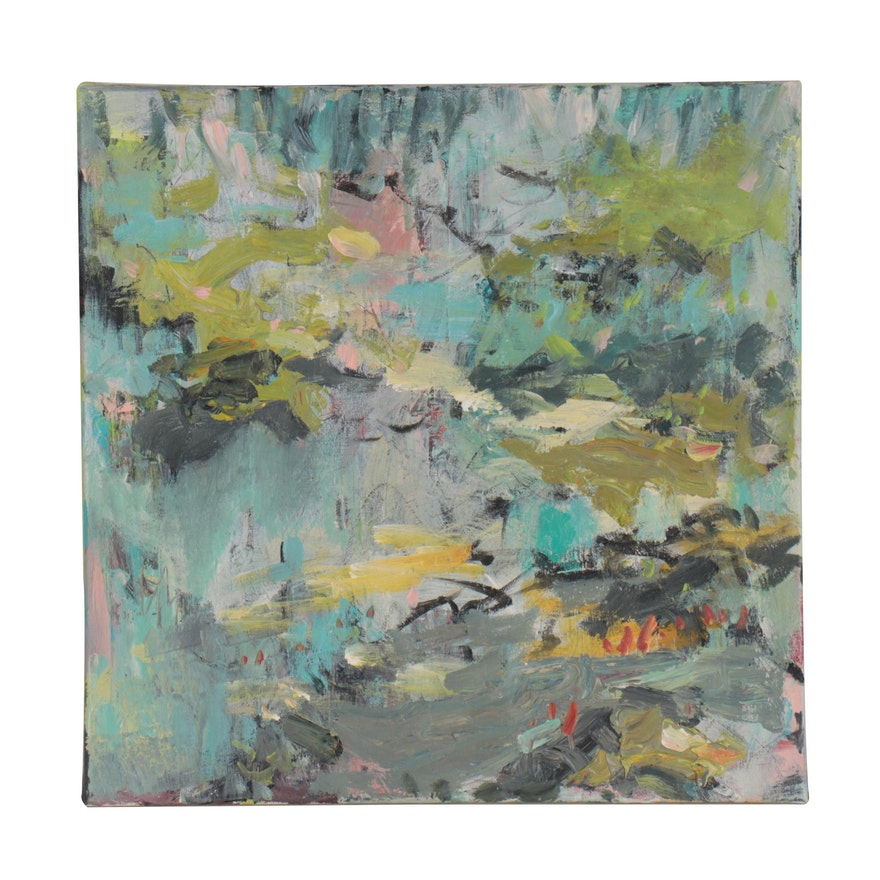 Amelia Colne Abstract Acrylic Painting