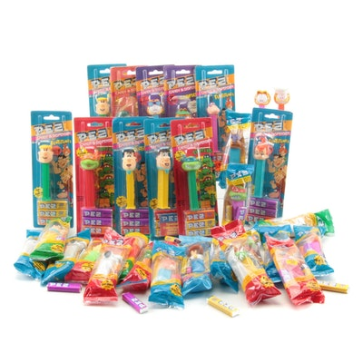 "PEZ ""The Flintstones"", ""Garfield"" and Others Candy Dispensers"