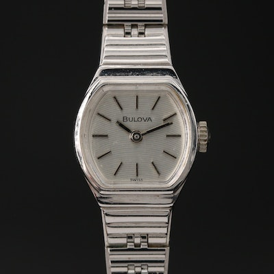 1979 Bulova Stem Wind Wristwatch