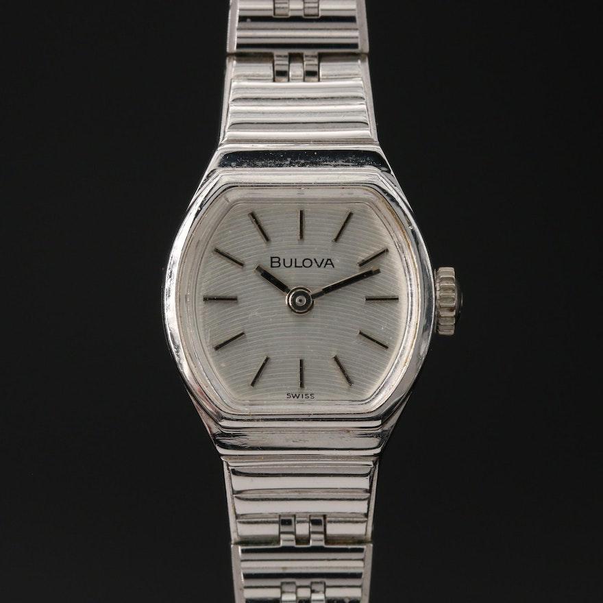 1979 Bulova Stem Wind Wristwatch