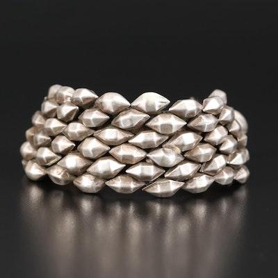 Indian 800 Silver Lahsan Bracelet