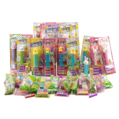 PEZ Easter and Spring Themed Candy Dispensers