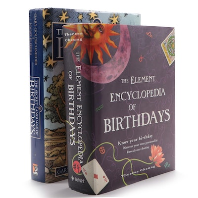 """The Element Encyclopedia of Birthdays"" by Theresa Cheung and More"