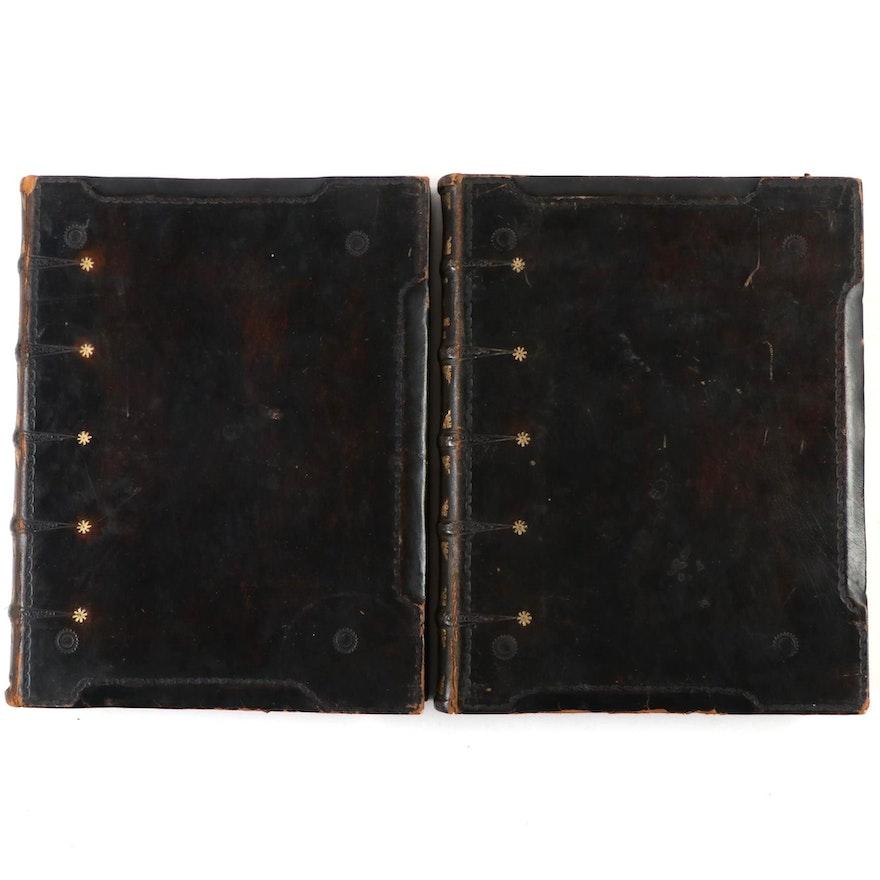 "Illustrated ""Histoire de la littérature française"" Volumes I and II, 1923-1924"