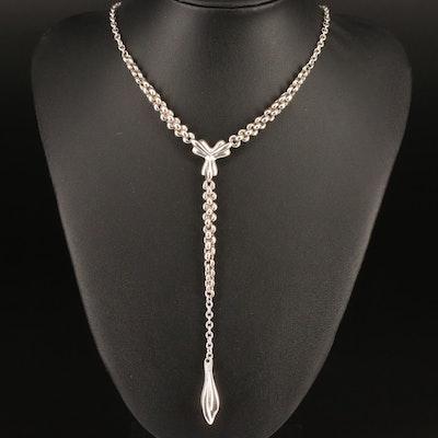 Joseph Esposito Sterling Chain Necklace