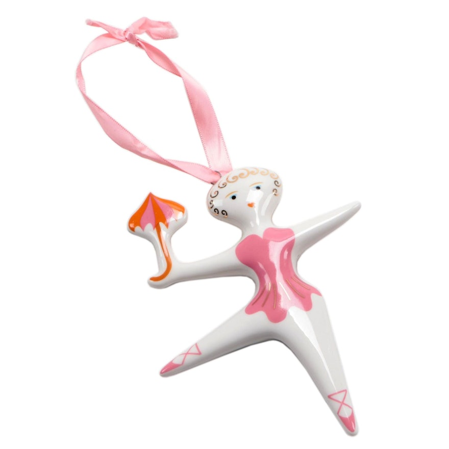 "Jonathan Adler ""Circus Collection"" Porcelain Ornament"