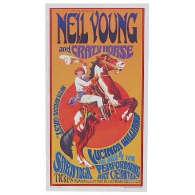 """Bob Masse Poster """"Neil Young and Crazy Horse,"""" 2003"""