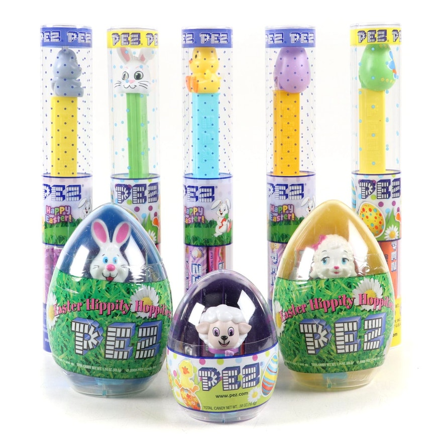 "PEZ ""Lamb"", ""Bunny"" and Other Easter Themed Candy Dispensers"