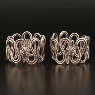 Madhya Pradesh Sterling Silver Nagmuri Bracelet