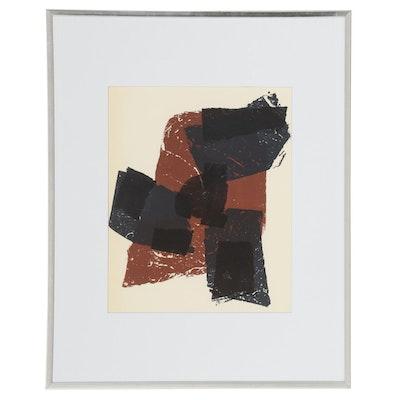 """Raoul Ubac Lithograph for """"Derrière le Miroir,"""" 1958"""