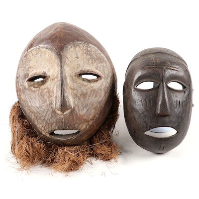 Lega Style and Other Central African Mask