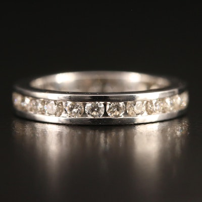 14K 1.00 CTW Diamond Eternity Band
