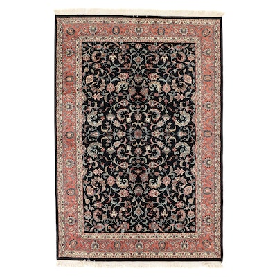 6'1 x 9'5 Hand-Knotted Indo-Persian Tabriz Area Rug, 2000s