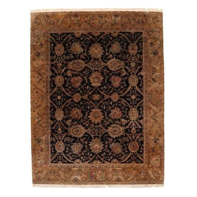 8'2 x 11'1 Hand-Knotted Pakistani Persian Tabriz Area Rug, 2000s