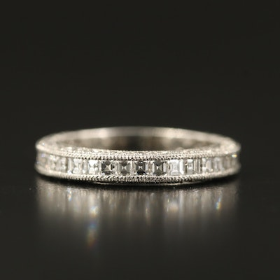 Tacori Platinum 1.97 CTW Diamond Eternity Band