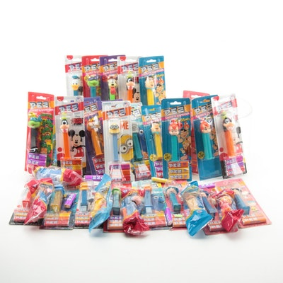 PEZ Disney, Hanna-Barbera and Other Candy Dispensers