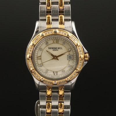 Raymond Weil Tango Diamond Two Tone Stainless Steel Quartz Wristwatch