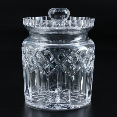 "Waterford Crystal ""Lismore"" Biscuit Barrel, Late 20th Century"