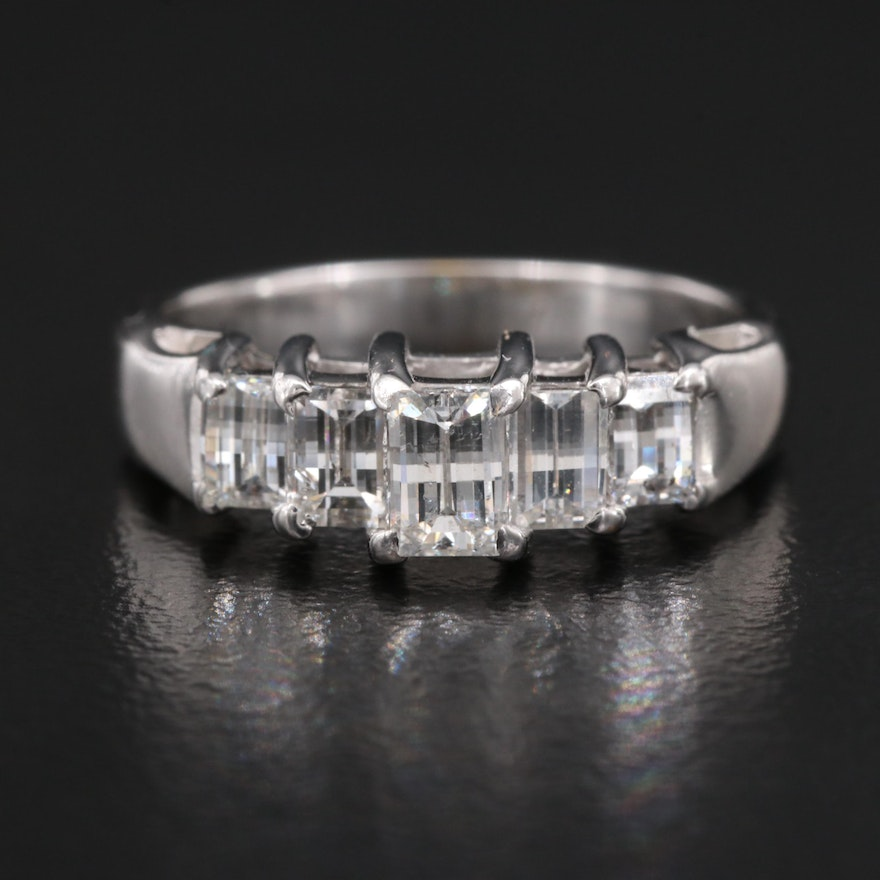 14K 1.26 CTW Diamond Ring