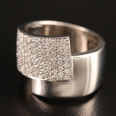 Sonia B. 14K 1.25 CTW Diamond Bypass Band