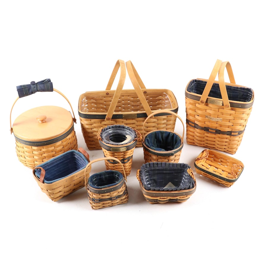 "Longaberger ""Collector's Club"" Baskets"