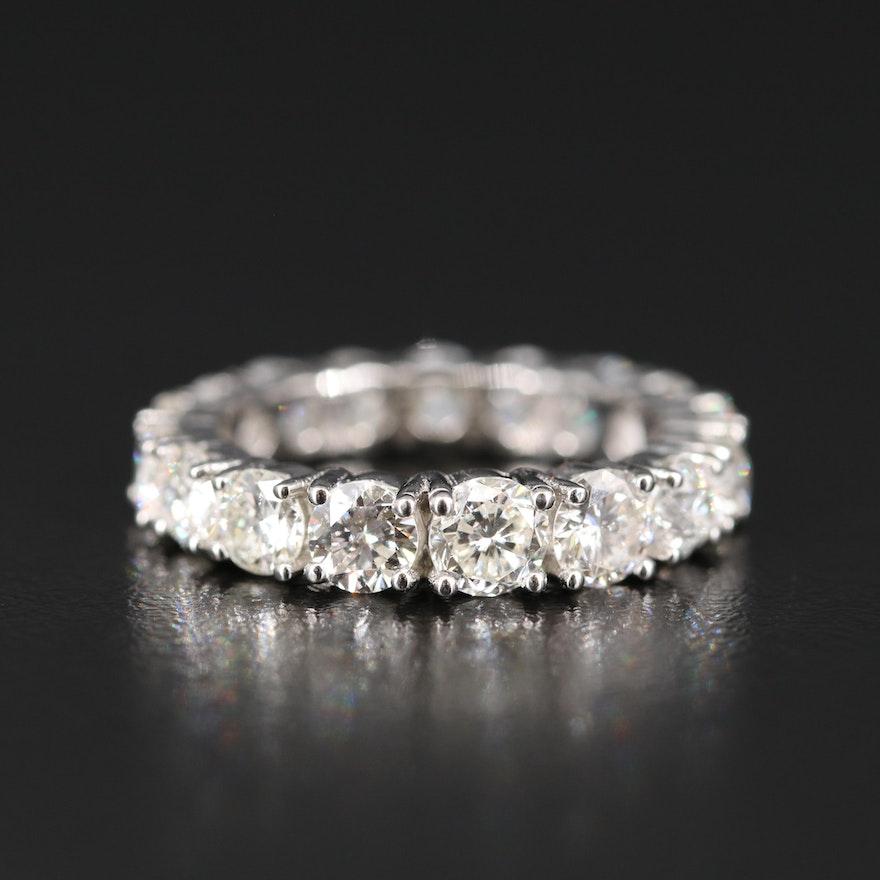Platinum 3.99 CTW Diamond Eternity Band
