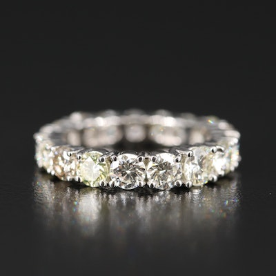 Platinum 3.55 CTW Diamond Eternity Band