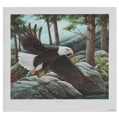 "John A. Ruthven Digital Print ""Victory Flight,"" 2006"
