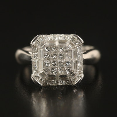 14K 1.18 CTW Diamond Ring