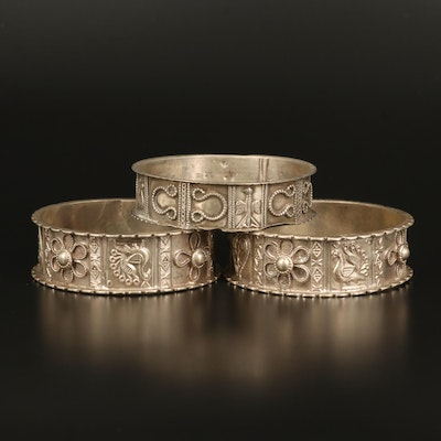 Vintage Mughal Indian Peacock Bangles