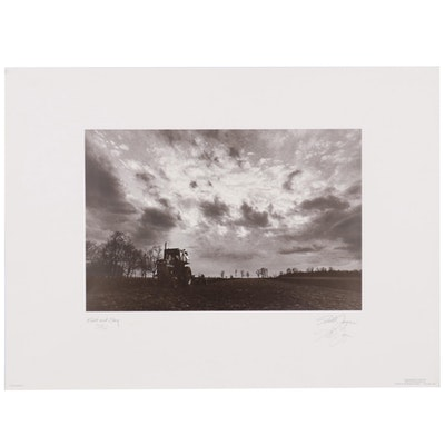 "Todd Joyce Offset Lithograph ""Field and Sky"""