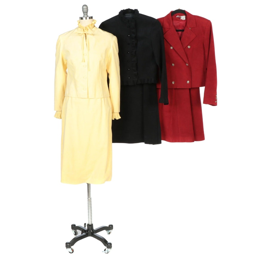 Posh by Jay Anderson, Abe Schrader, and Blassport by Bill Blass Skirt Suits