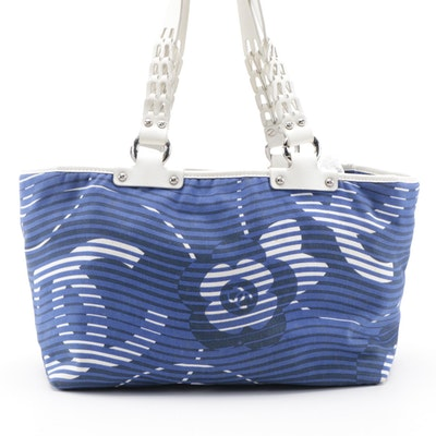 Chanel Cruise Line Canvas and Leather Tote Bag