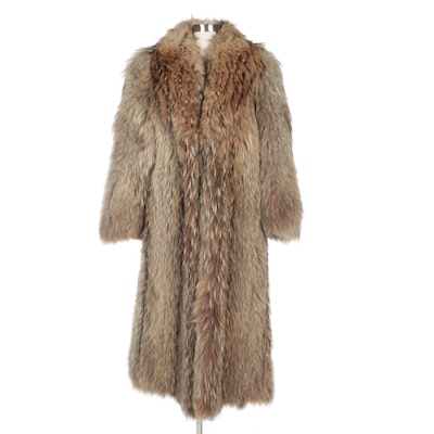 Tanuki Fur Coat from Stanley Rich Fine Furs