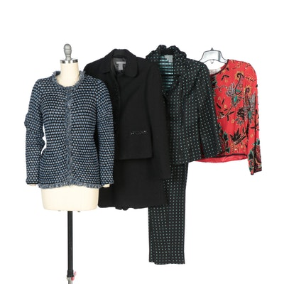 Ann Taylor Skirt Suit with Laurence Kazar Jacket and Other Pants and Jackets