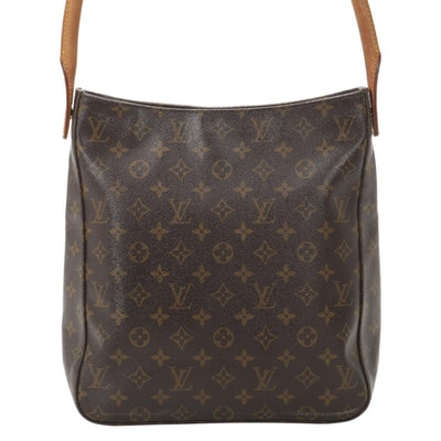 Louis Vuitton Looping MM Shoulder Bag in Monogram Canvas