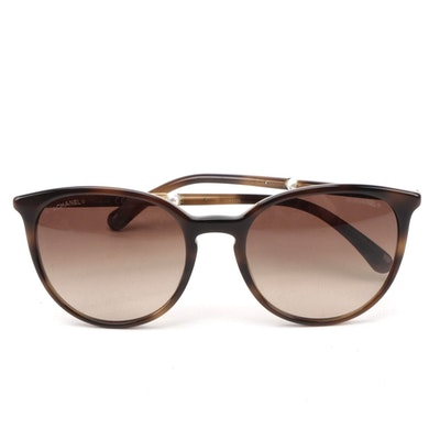 Chanel 5394-H Gradient Pearl Butterfly Sunglasses