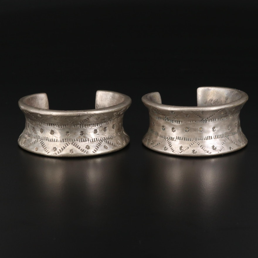 Vintage Indian Gujarati Cuffs