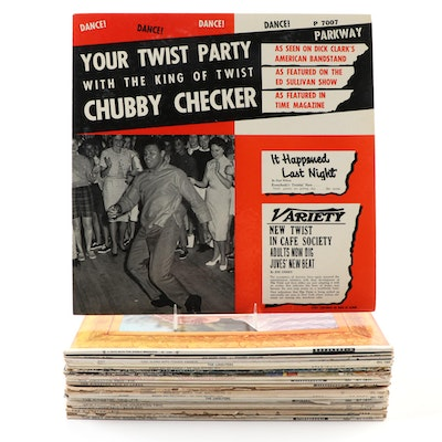 Chubby Checker, Connie Francis, The Limeliters, and Other Vinyl Records