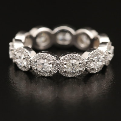 14K 2.42 CTW Diamond Eternity Band