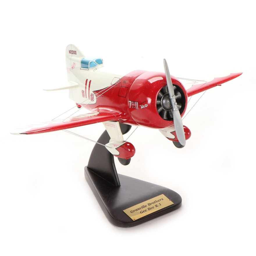"""Granville Brothers """"Gee Bee R.1 Sportster"""" Model Airplane"""