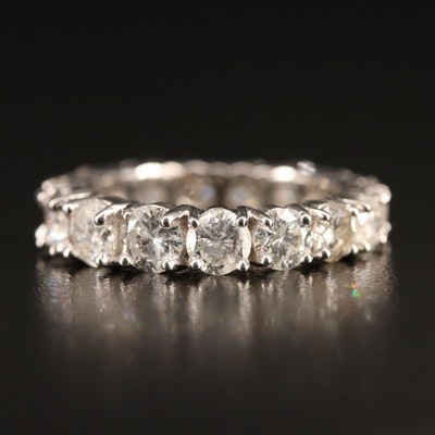 Graduated 14K 4.30 CTW Diamond Eternity Band