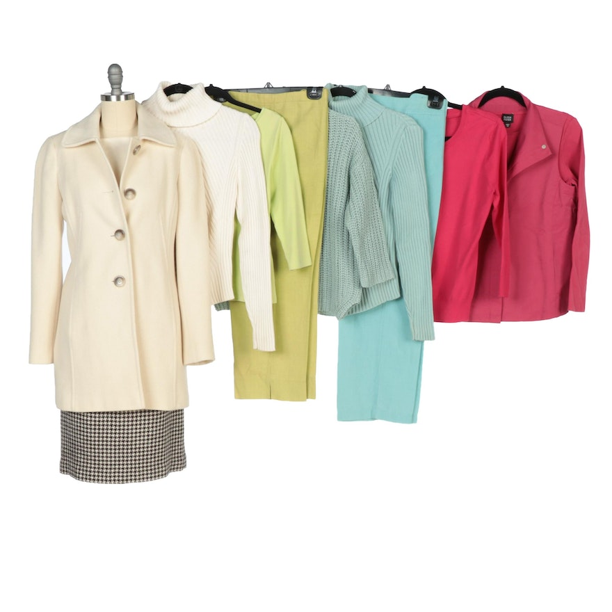 Eileen Fisher, Ann Taylor and Other Pants, Sweaters, Tops, Skirt and Coat
