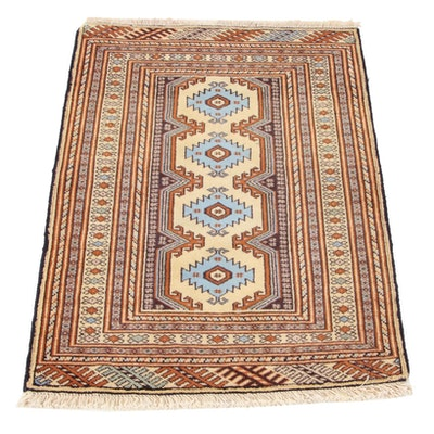2'5  x 3'3 Hand-Knotted Persian Ardebil Accent Rug, 1970s