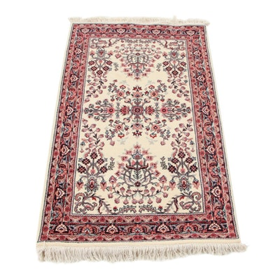 3'1 x 5'5 Hand-Knotted Indo-Persian Tabriz Accent Rug, 2000s