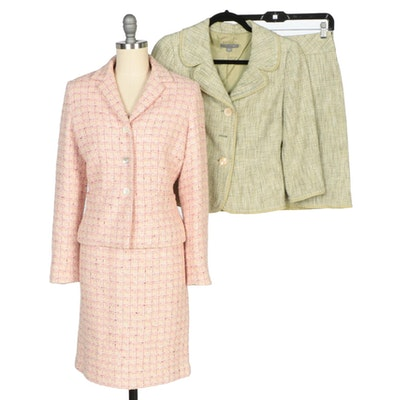 Ann Taylor Tweed Skirt Suits