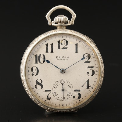 Elgin 1926 Elgin 14K Gold Pocket Watch